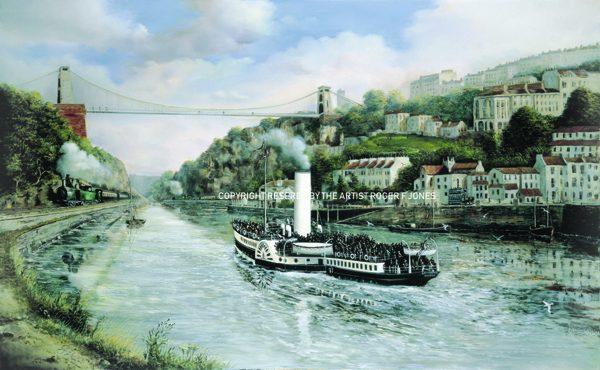 Maiden Voyage of the Britannia 1896