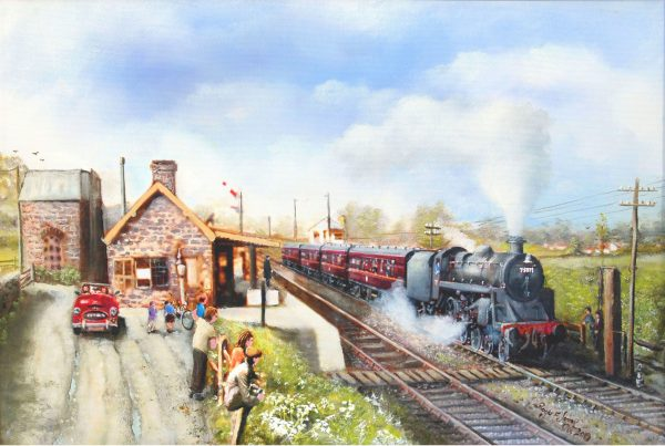 Chilcompton Station 1963